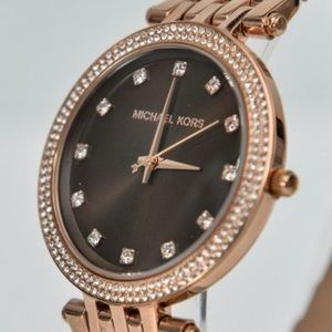 NWT Authentic Michael Kors Rose Gold Watch